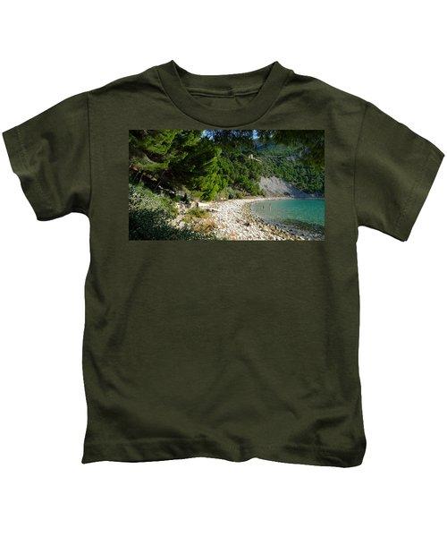 Arene Beach Of Cassis Kids T-Shirt