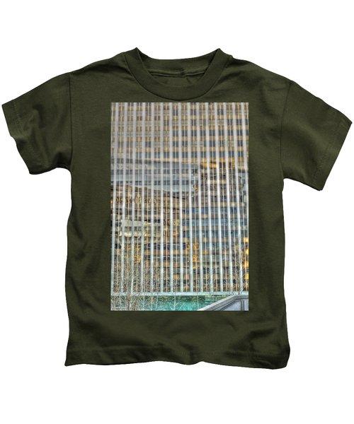 Plaid Light In La Kids T-Shirt