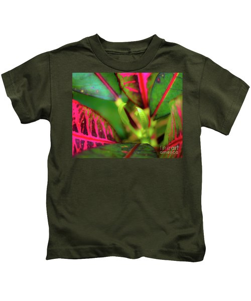 Plants In Hawaii Kids T-Shirt