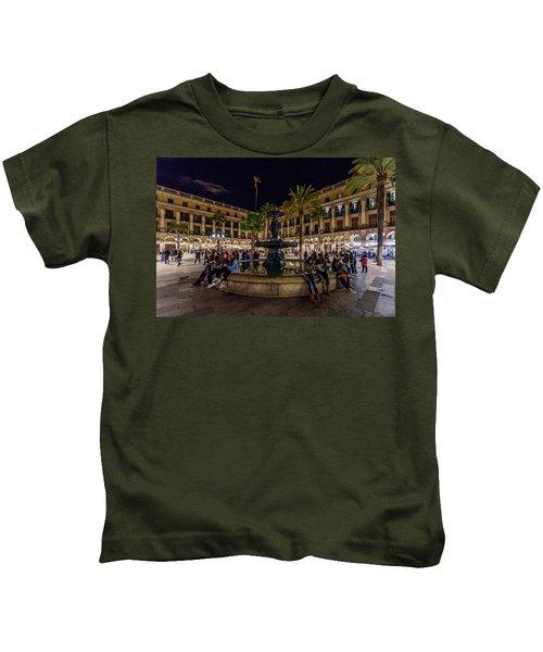 Plaza Reial Kids T-Shirt