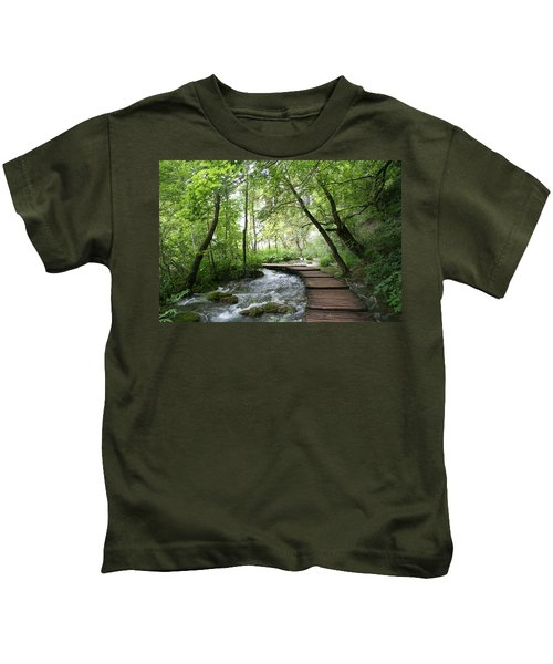 Plitvice Lakes National Park Kids T-Shirt