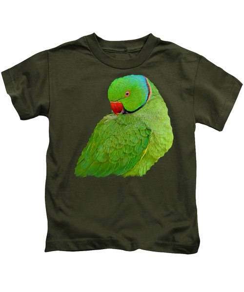 Plucking My Feathers Kids T-Shirt