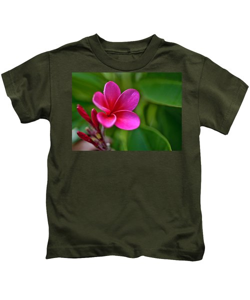 Plumeria - Royal Hawaiian Kids T-Shirt