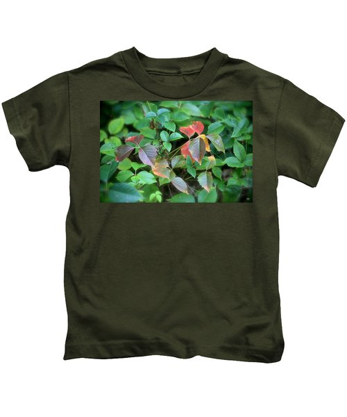 Poison Ivy In August Kids T-Shirt