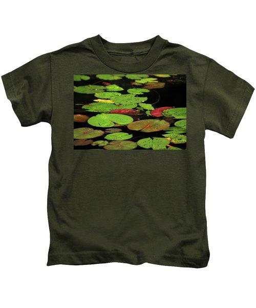 Pond Pads Kids T-Shirt