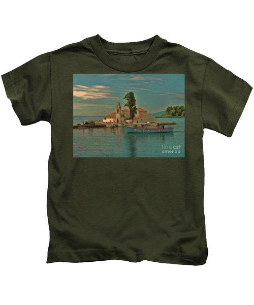 Pontikonisi Corfu Kids T-Shirt