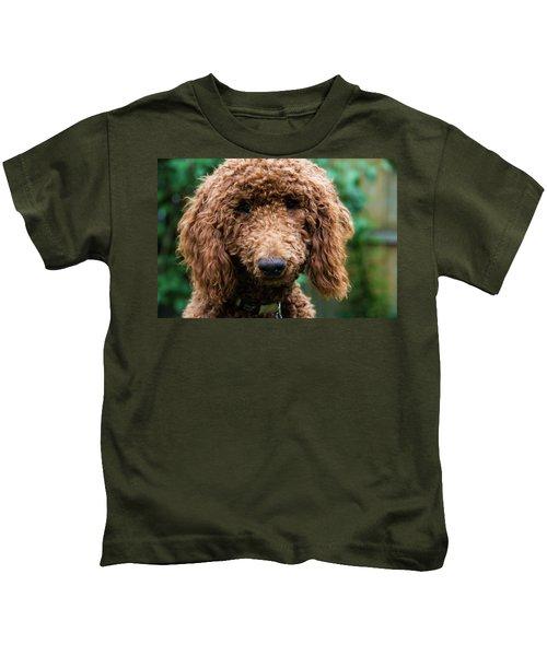 Poodle Pup Kids T-Shirt