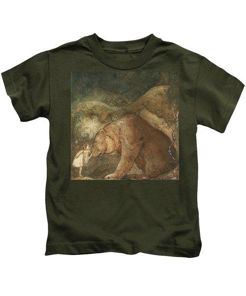 Poor Little Basse Kids T-Shirt