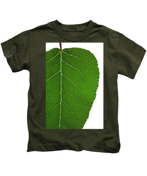 Poplar Leaf A Key To Biofuels Kids T-Shirt