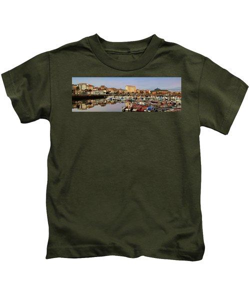 Port Of Ferrol Galicia Spain Kids T-Shirt