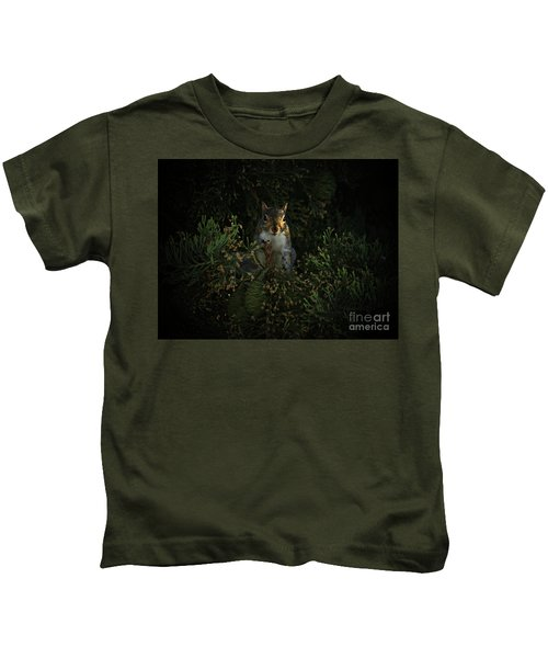 Portrait Of A Squirrel Kids T-Shirt