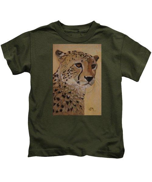Portrait Of Murphy - Male Cheetah Kids T-Shirt