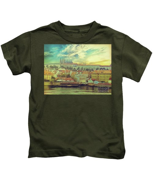 Prague Riverview Kids T-Shirt