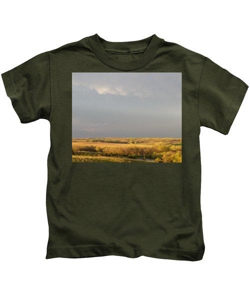 Prairie Gold Mammatus Kids T-Shirt