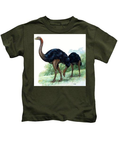 Pre-historic Birds Kids T-Shirt