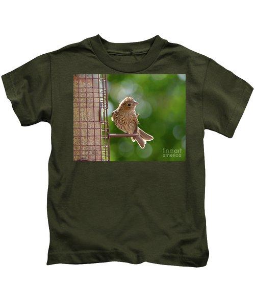Preening Kids T-Shirt