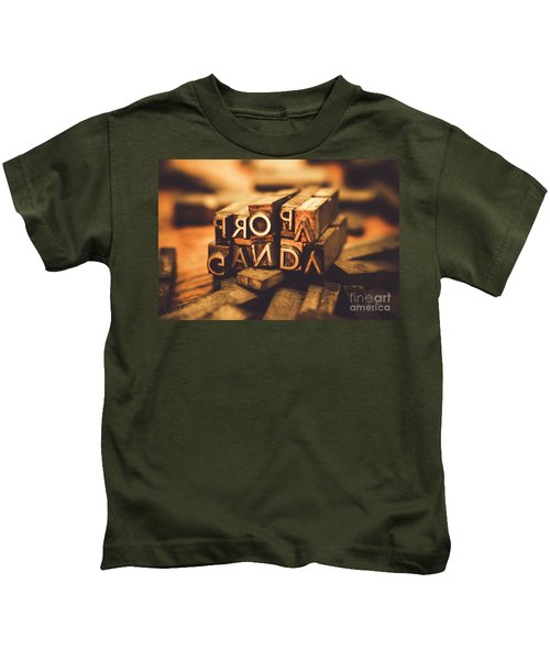 Press Of Propaganda Kids T-Shirt