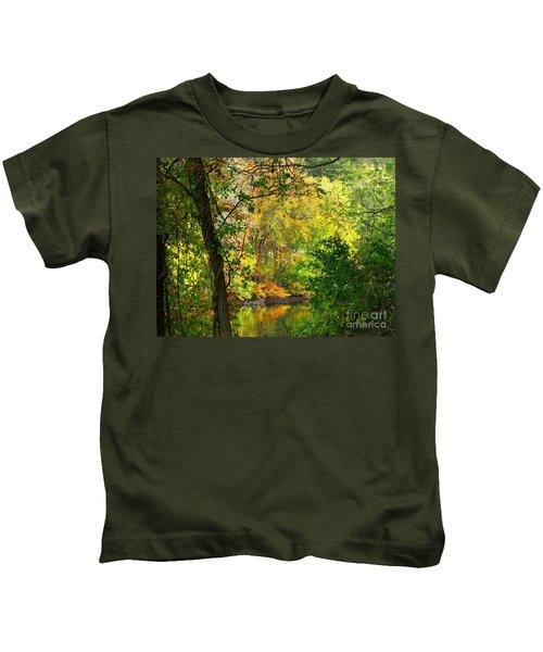 Prettyboy Of Autumn Kids T-Shirt