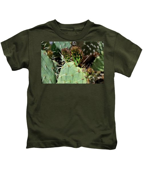 Prickly Pear Buds Kids T-Shirt