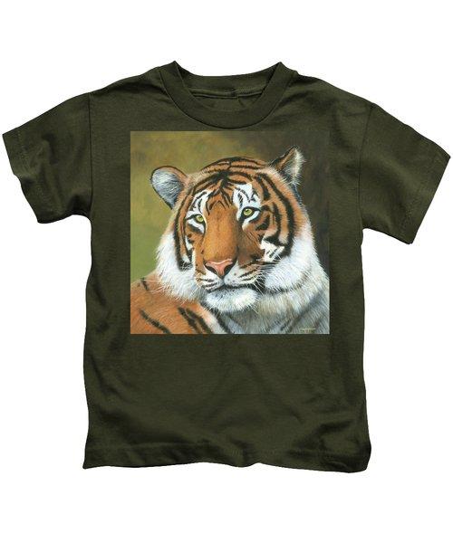 Pride Of Ranthambore Kids T-Shirt