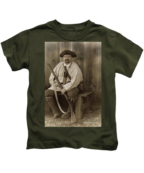 Primitive Man Kids T-Shirt