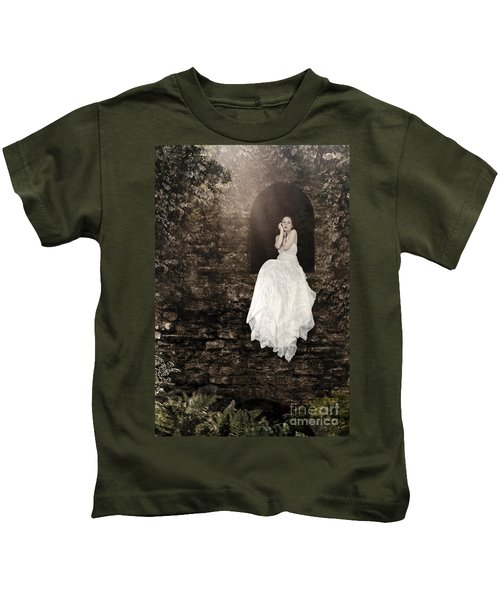 Princess In The Tower Kids T-Shirt