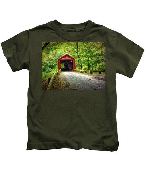 Protected Crossing In Summer Kids T-Shirt