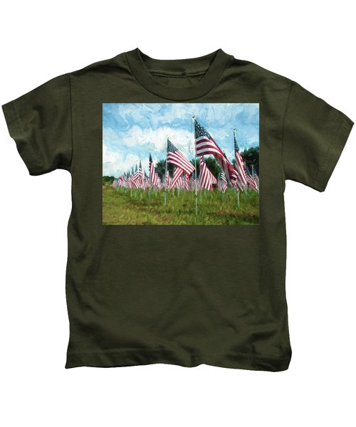 Proud And Free Kids T-Shirt