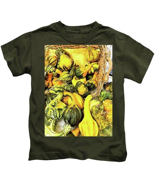 Pumpkin Family Kids T-Shirt
