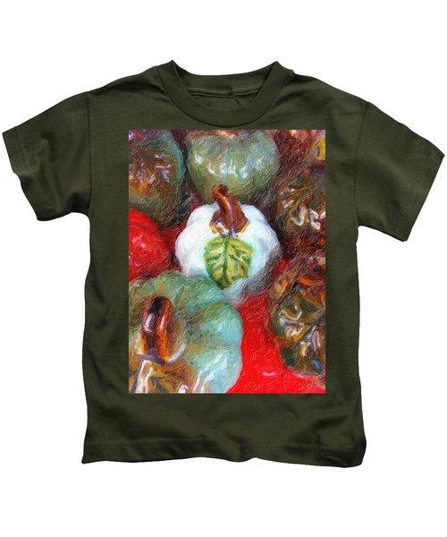 Pumpkins, Pumpkins...everywhere Kids T-Shirt