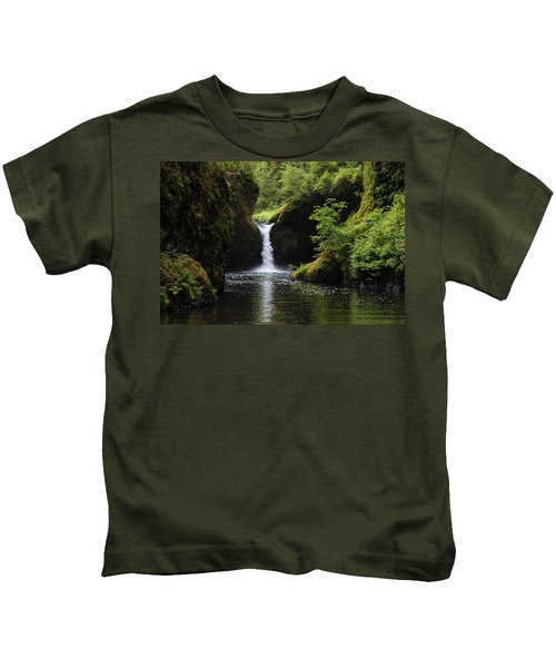 Punchbowl Falls Kids T-Shirt
