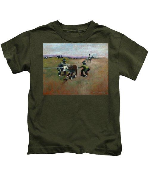 Punchin Doggies Kids T-Shirt