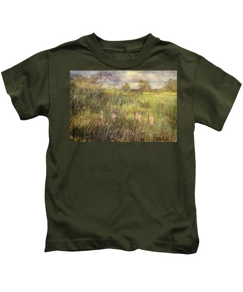 Cat O Nine Tails Going To Seed Kids T-Shirt