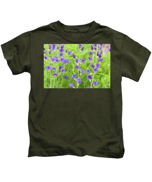 Purple Beauties Kids T-Shirt
