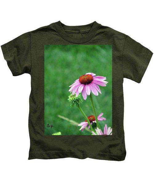 Purple Cone Kids T-Shirt