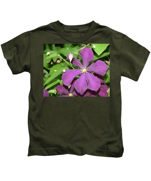 Purple Delite Kids T-Shirt