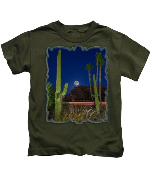 Pusch Ridge Full Moon V30 Kids T-Shirt