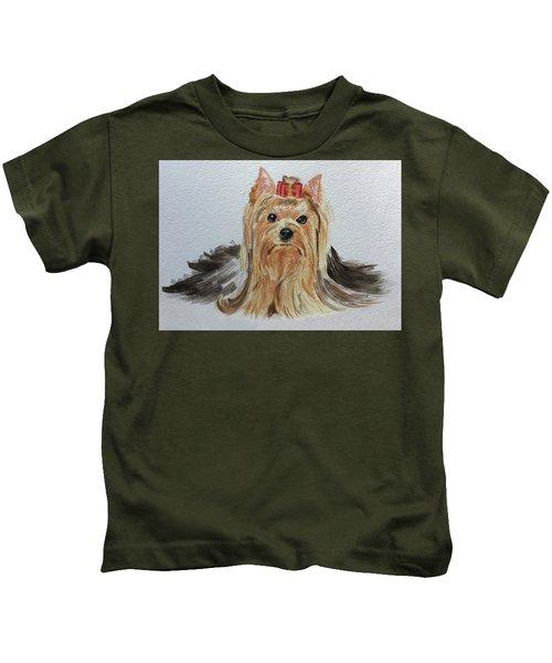 Put A Bow On It Kids T-Shirt