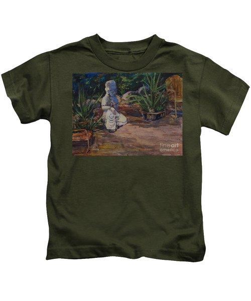 Quan Yin's Sitting Area Kids T-Shirt