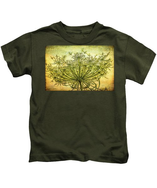 Queen Anne's Lace At Sunrise Kids T-Shirt