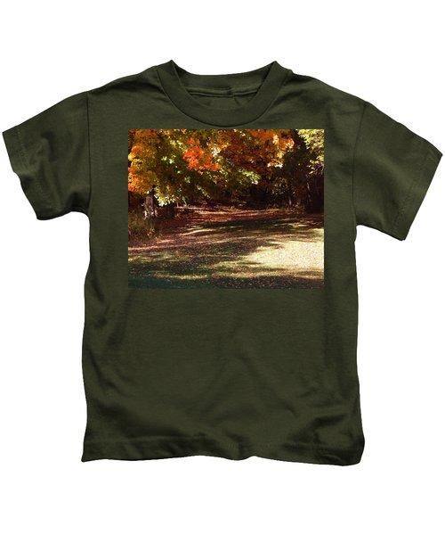 Quiet Picnic Place Kids T-Shirt