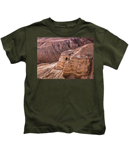 Qumran Cave 4, Israel Kids T-Shirt