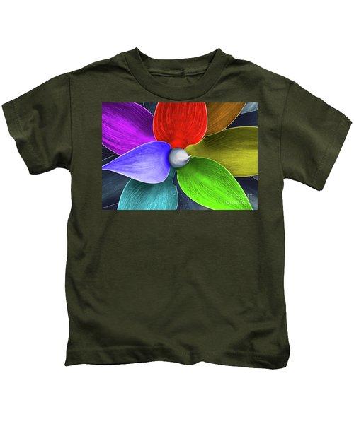 Rainbow Agave Kids T-Shirt