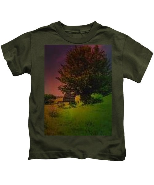 Rainbow Sunset Kids T-Shirt