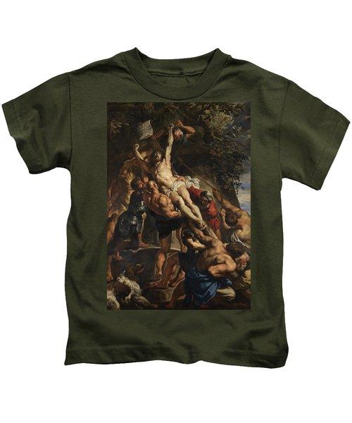 Raising Of The Cross Kids T-Shirt