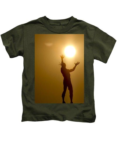 Raising The Sun Kids T-Shirt