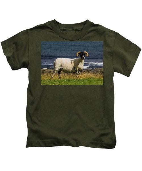 Ram With Attitude Kids T-Shirt