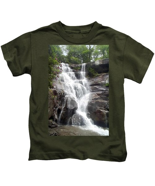 Ramsay Cascade Smoky Mountains National Park Kids T-Shirt