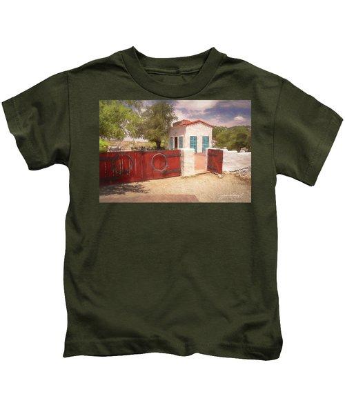 Ranch Family Homestead Kids T-Shirt