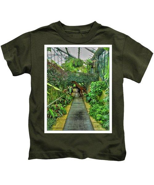 Raptor Seen In Kew Gardens Kids T-Shirt